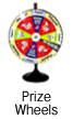 Prize wheels for sale or rent